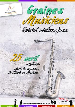 Concert : Graine de musiciens Jazz