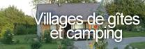 Villages de gîtes et campings
